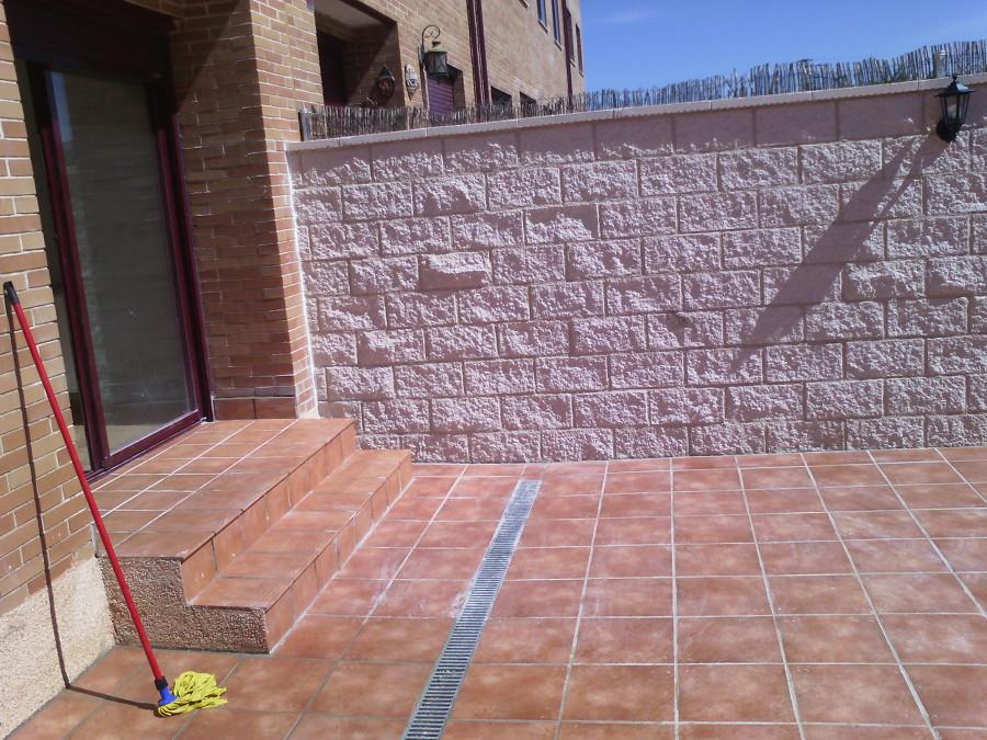 muro y terraza