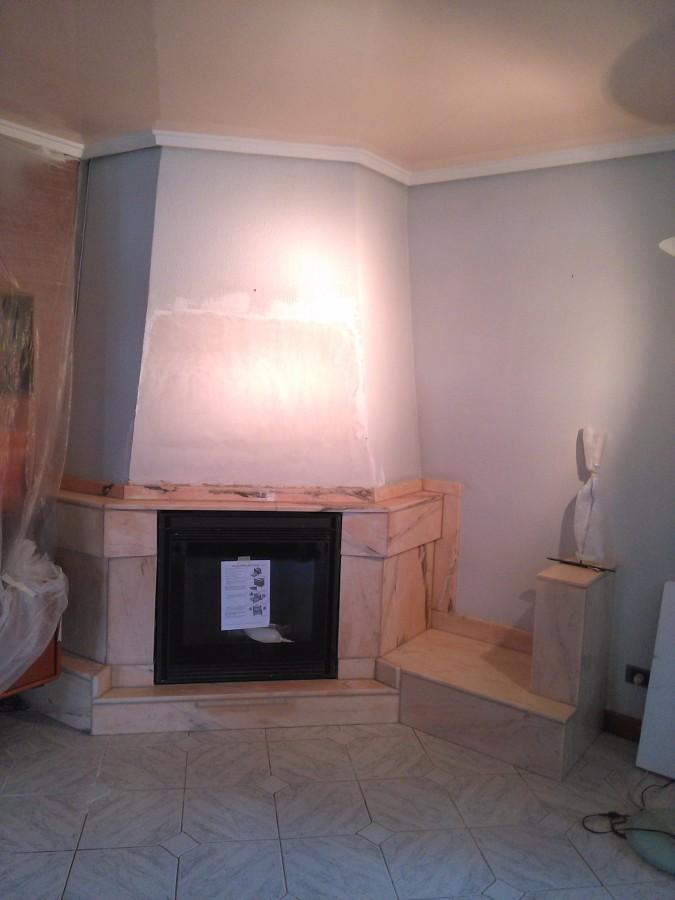 Foto chimenea de reformas y construcciones aretxa 985181 - Chimeneas valladolid ...