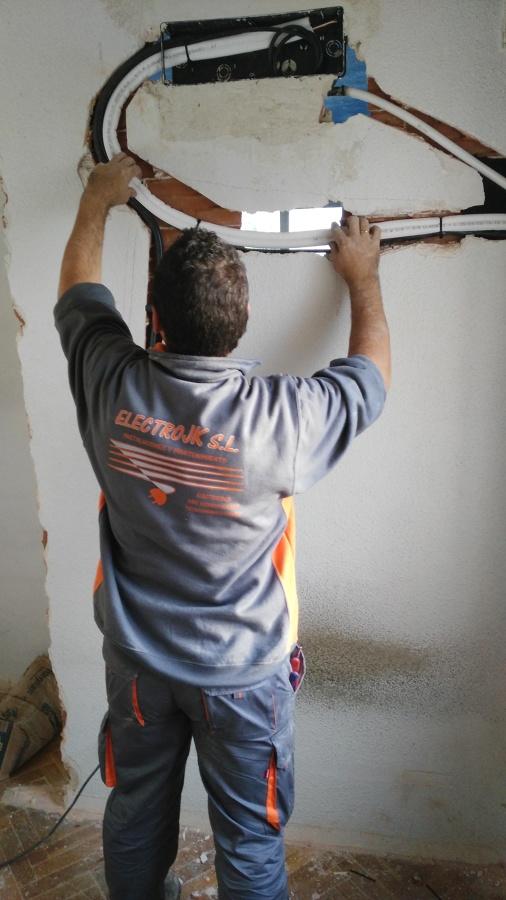 realizacion de preinstalaciones de aire acondicionado tipo split