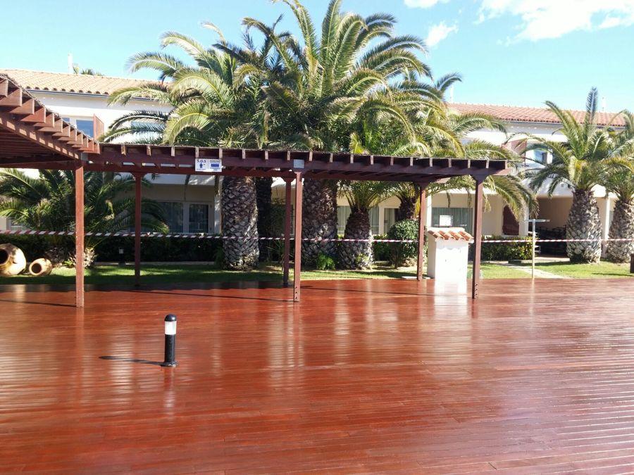 Foto lasur tratamiento madera exterior de welaan 1310791 for Tratamiento madera exterior