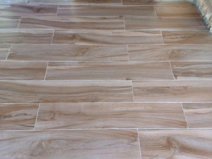 Foto pavimento imitacion parquet porcelanico de reformas - Gres imitacion parquet ...