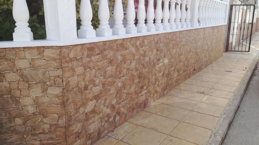 Muros del jardín