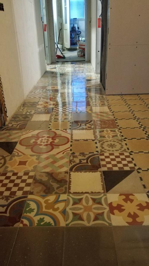 Patchwock de mosaico hidraulico