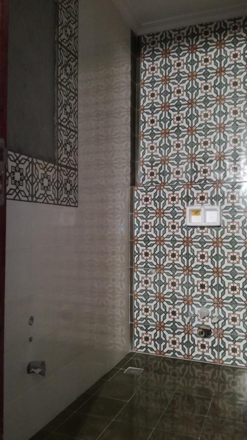 Mosaico hidráulico en paredes