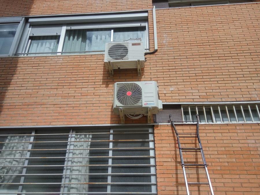 Instalación de condensador