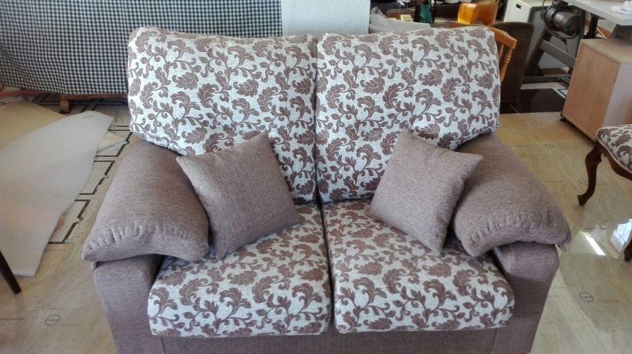 Sofa dos plazas .