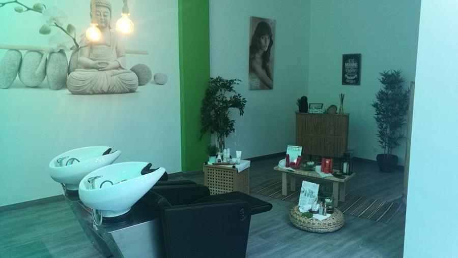 Instalacion de lavacabezas peluquería