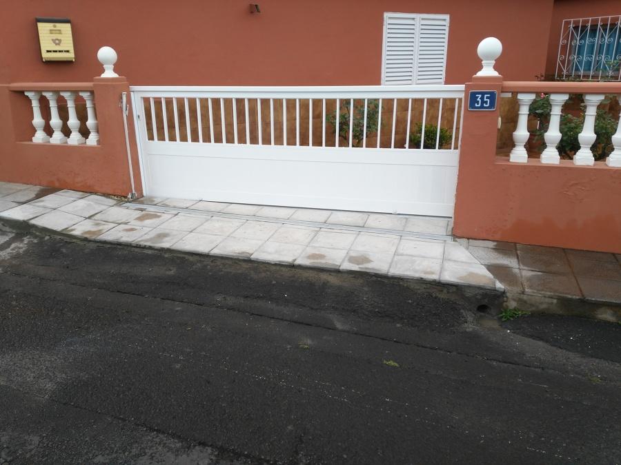 Puertas de correderas jardin