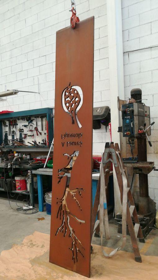 Diseños en acero corten