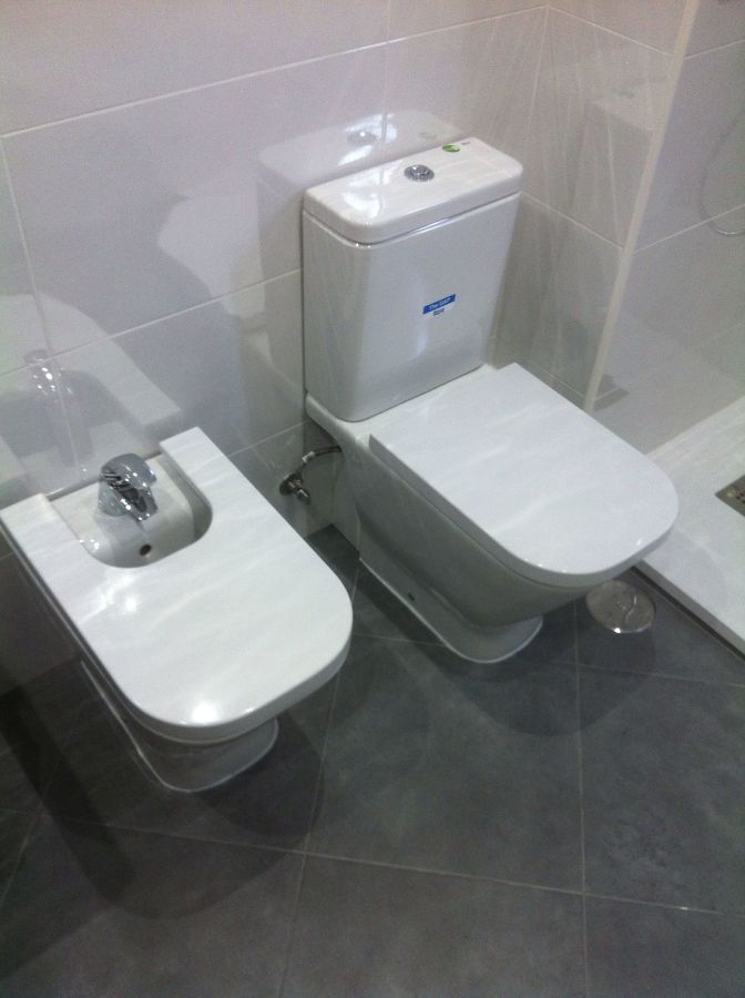 Reforma Baño blanco