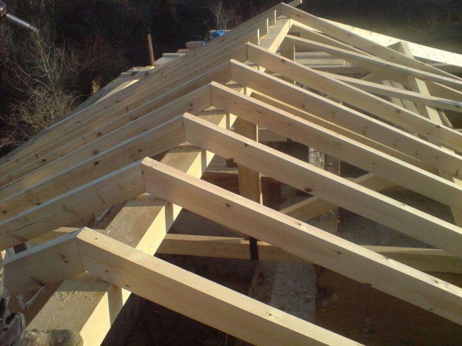 Tejado de madera zegama