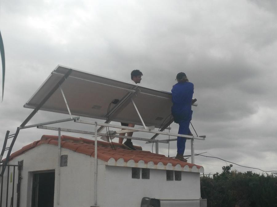 montaje instalación aislada