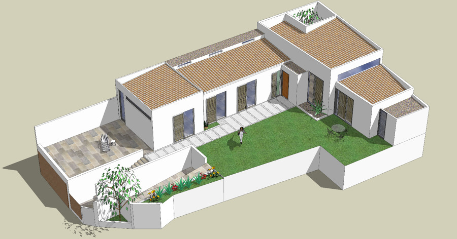 vivienda unifamiliar adosada en Vícar