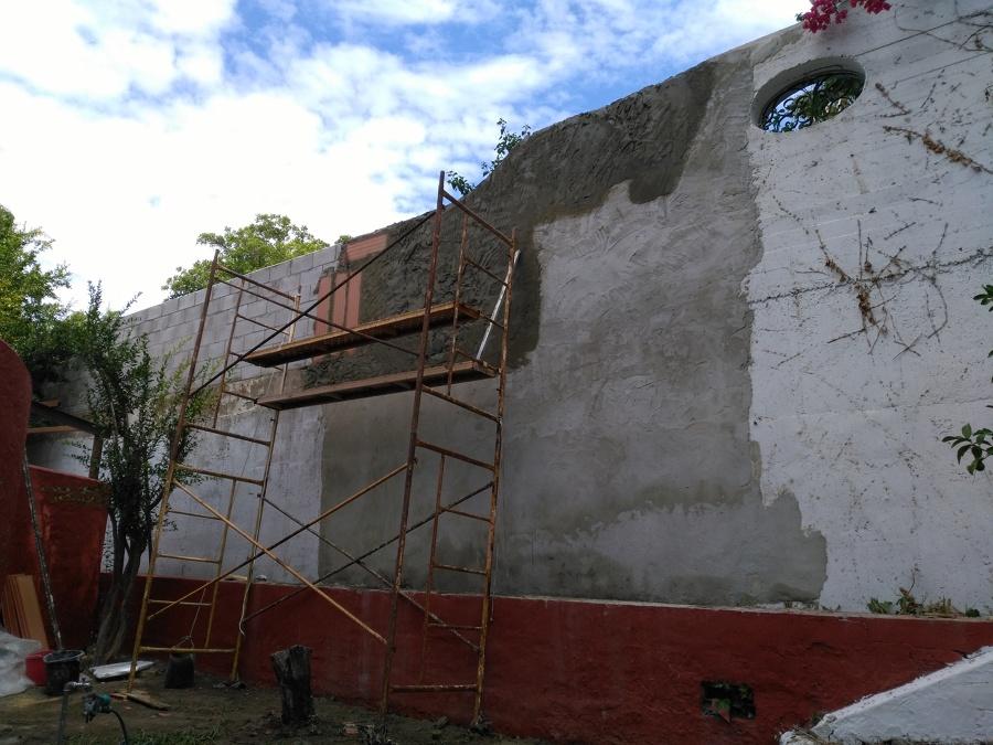 Enfoscados de pared medianeras