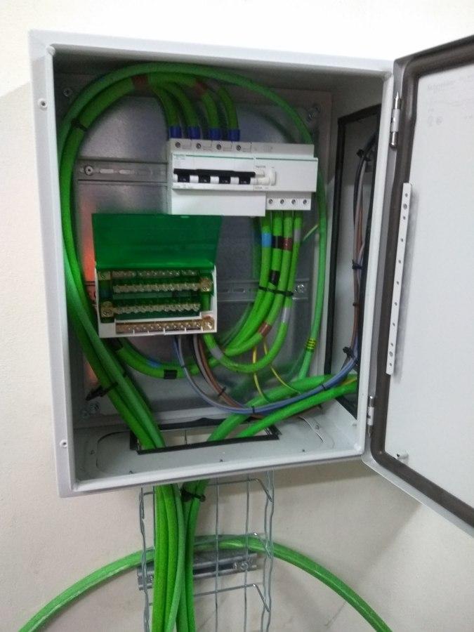 Interruptor general y repartidor