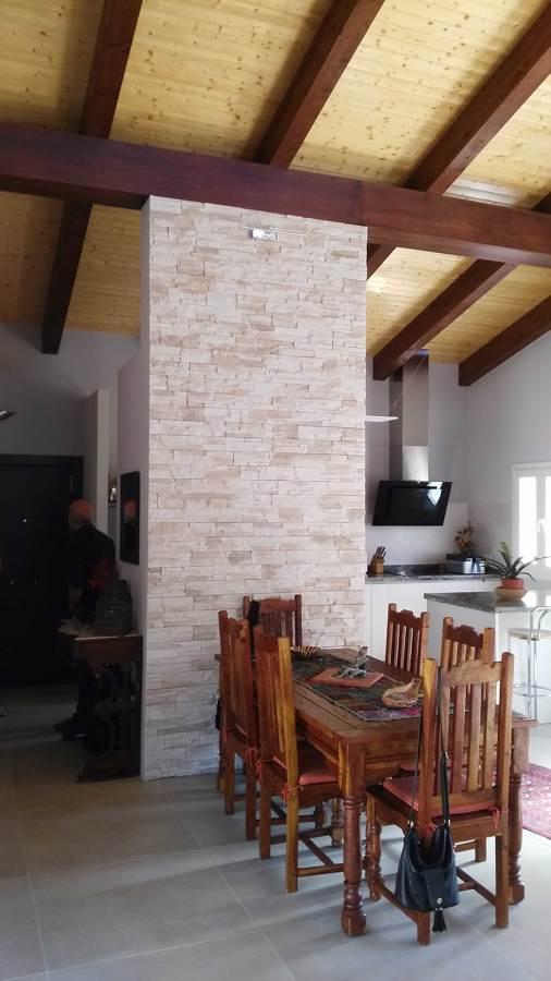 Salon-Comedor-Cocina en un unico espacio