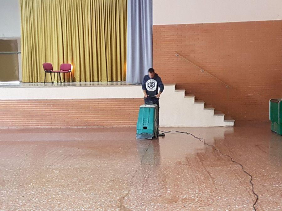Limpieza de salones