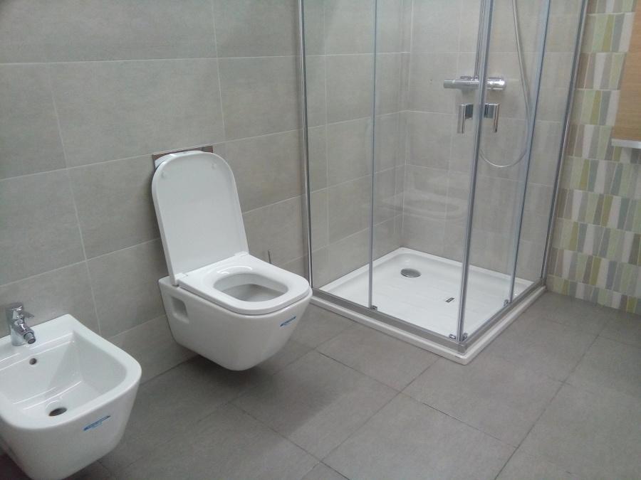 Reforma de Baños moderno y Mampara