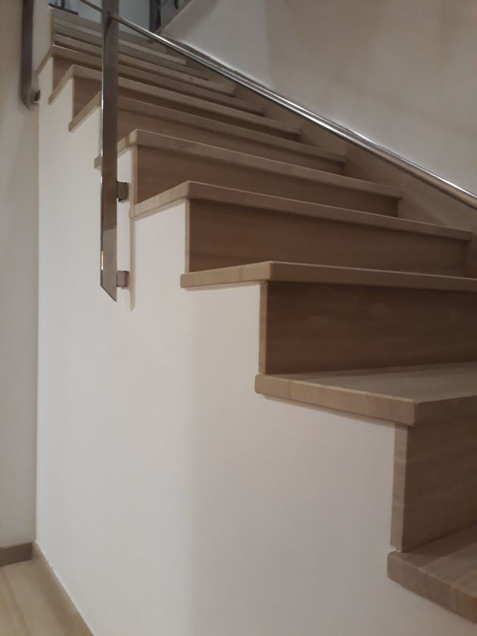 Pintura en escalera