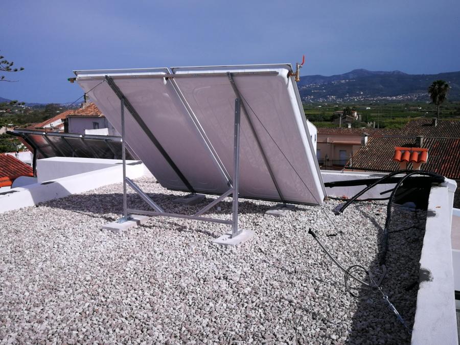 Captador solar
