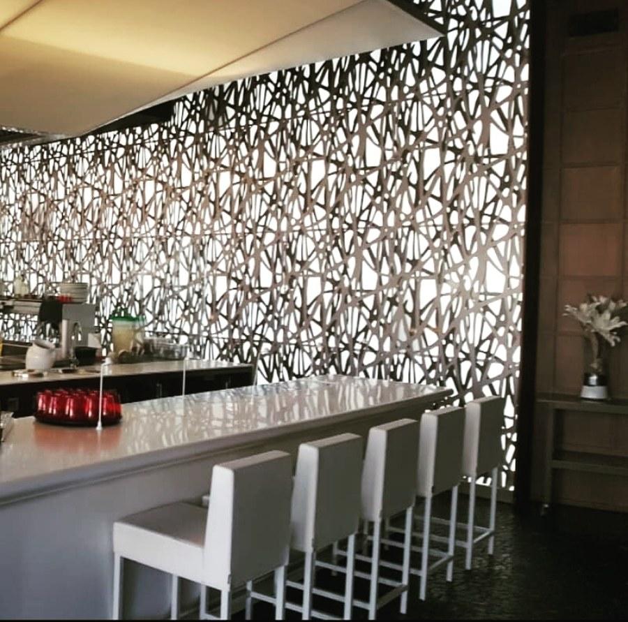 Panel decorativo, corte por laser