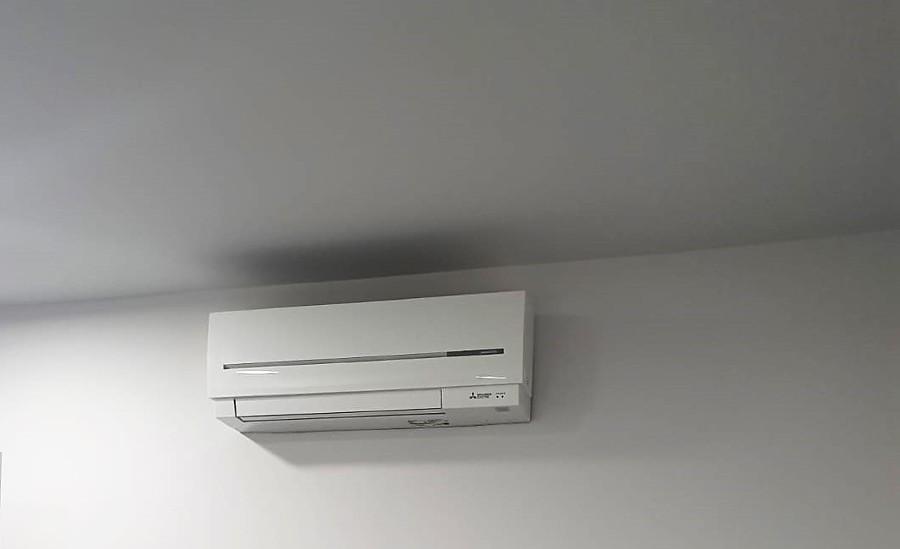instalacion de equipo de aire acondicionado