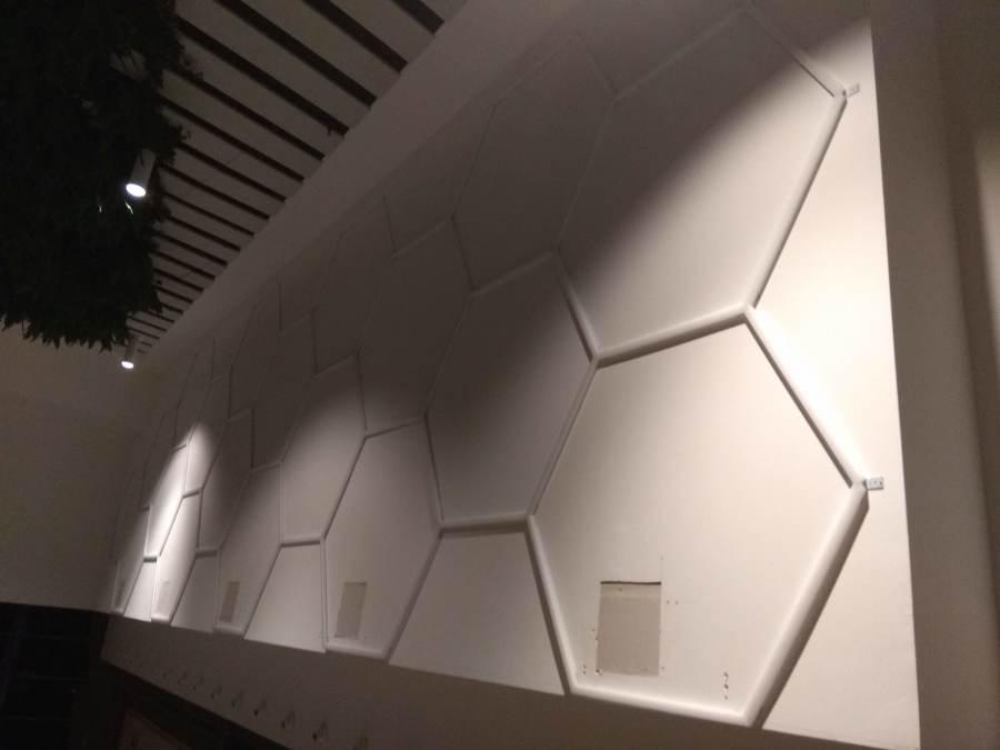 Instalación de LED's en galería del cc Luz del Tajo (Toledo) 4