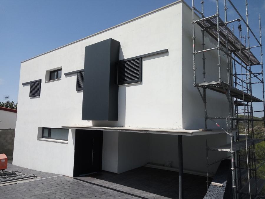 Reabilitacion fachada con sistema SATE