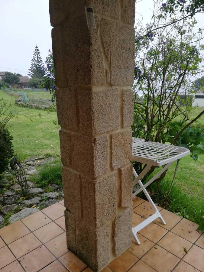 Realización de patio exterior