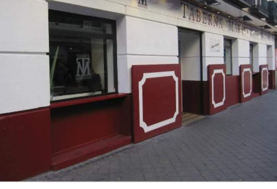Terminación de fachada local