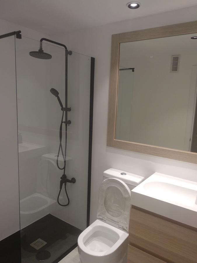 Baño reformado sin obra