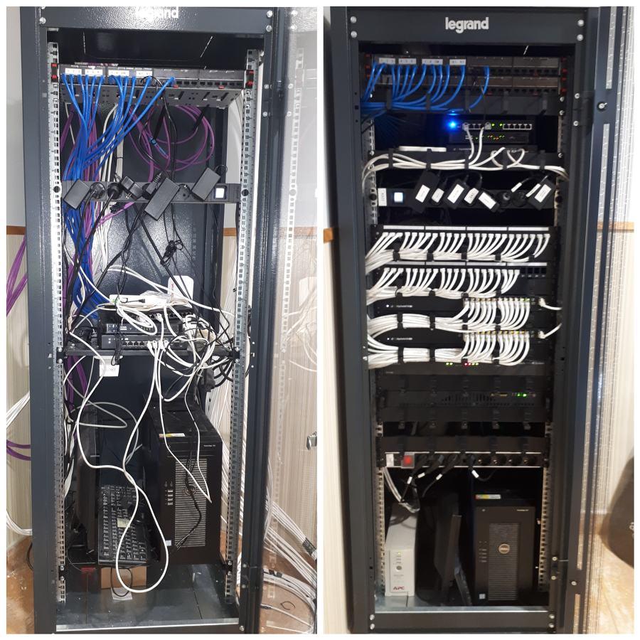 Remodelacion y ampiacion tomas ethernet y puntos wifi