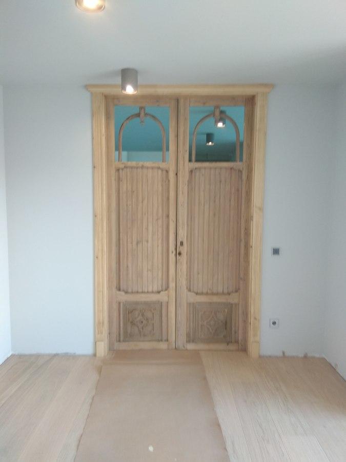 Puerta rustica