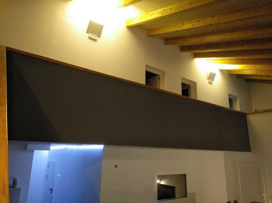 Pintura, tratamiento, pladur e instalaciones de luces