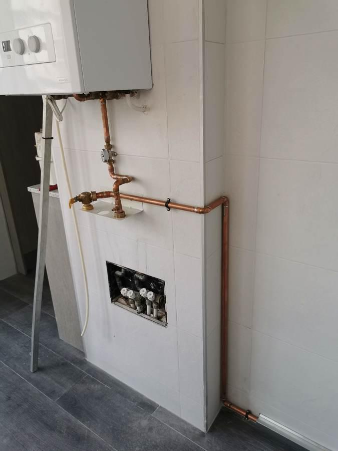 Instalación gas natural con certificado y tramitación con compañia