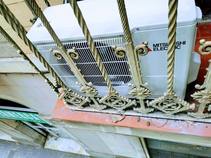 Sustitución maquina de aire acondicionado