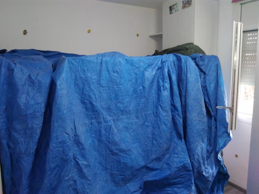 Habitación con litera preparada para inyectar