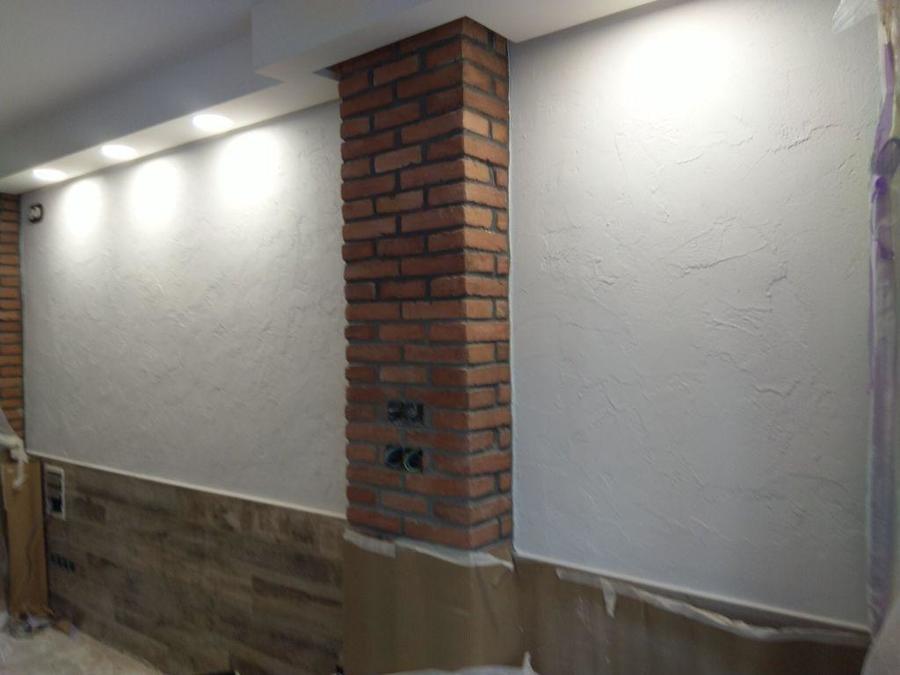 Alta decoración muros antiguos.