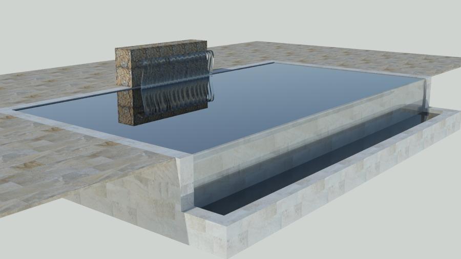 Diseño de piscina