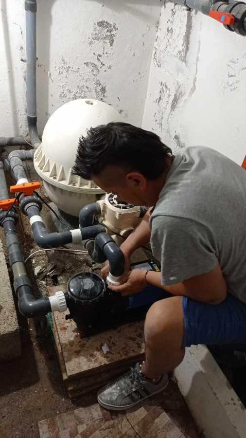Reparación y mantenimiento piscinas
