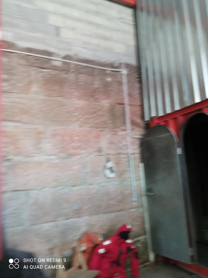 Instalación eléctrica nave