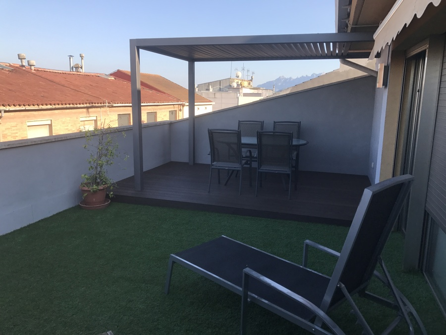 Acondicionamiento terraza