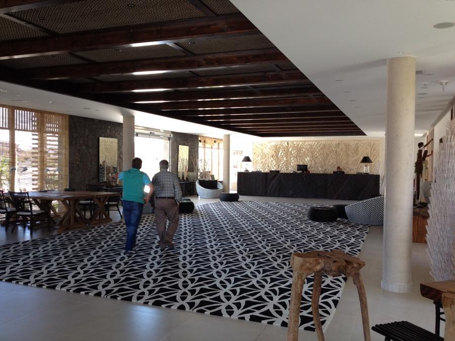 Hall de entrada Recepcion Hotel