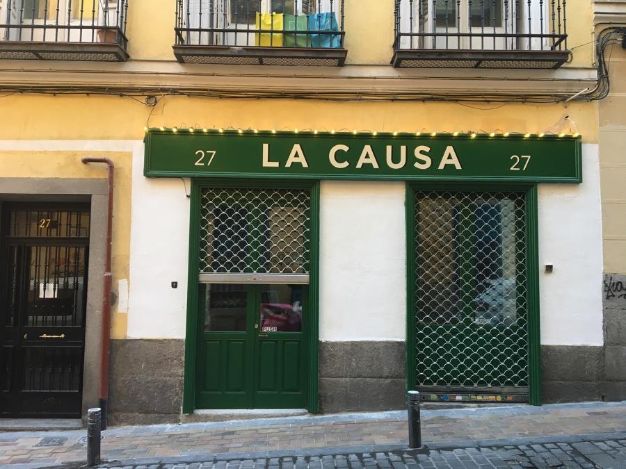 Fachada con Protección Catalogada Ayuntamiento Madrid