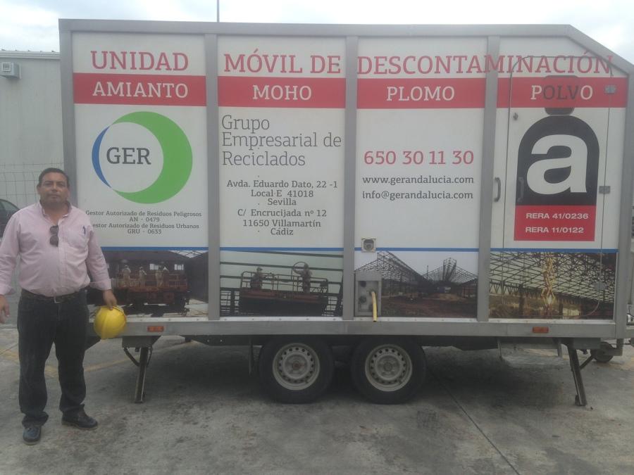UNIDAD DE DESCONTAMINACIÓN DE AMIANTO, PLOMO, POLVO, MOHO