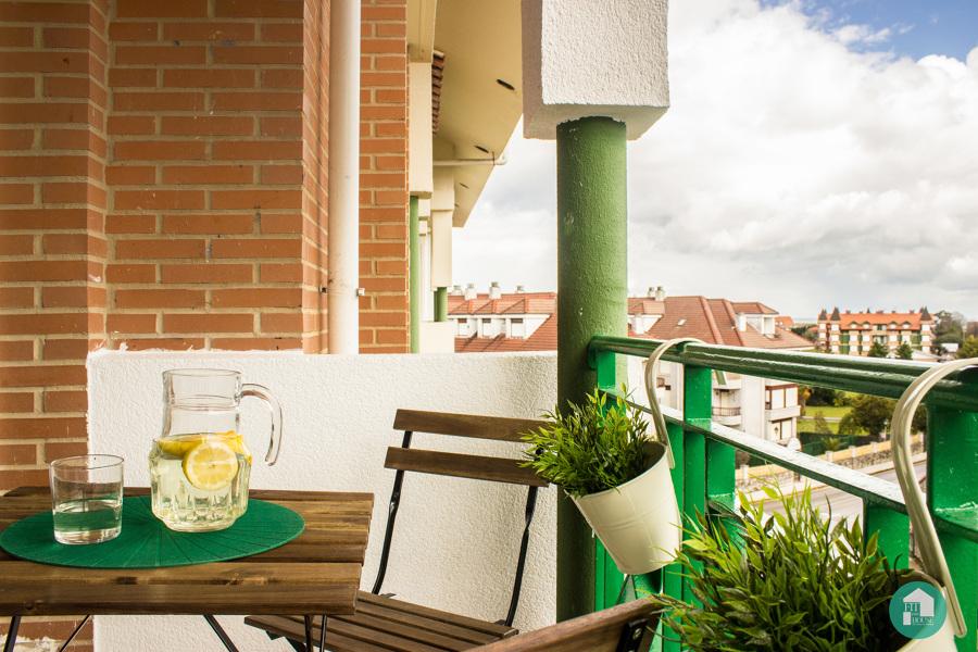 detalle terraza después de Home Staging
