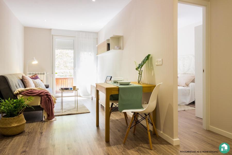 reforma salón comedor con Home Staging