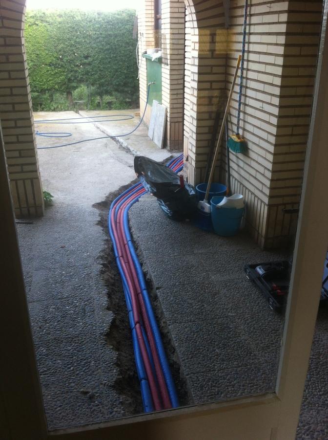 Proyecto calefacción y ACS en ejecución mediante tubería multicapa