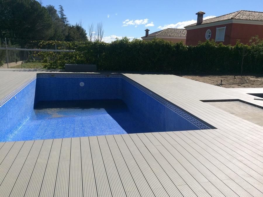Madera sintetica de exterior piscina