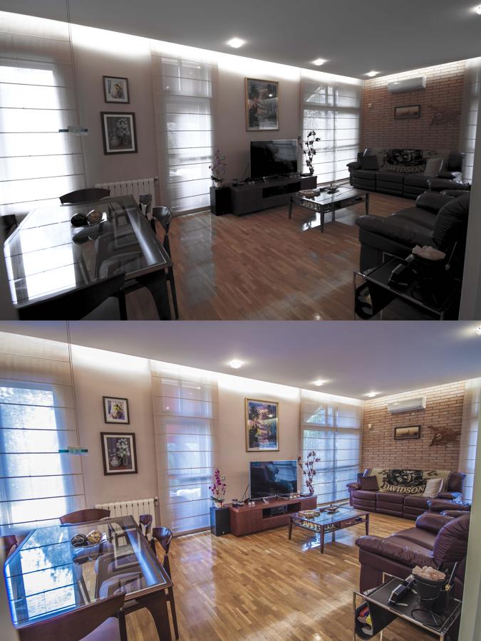 Fotografía de interior mejorada